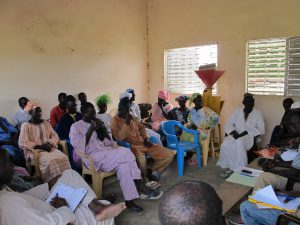 Launch meeting of activities in a pilot site